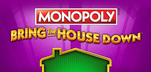 Monopoly Bring The House Down Slot Banner