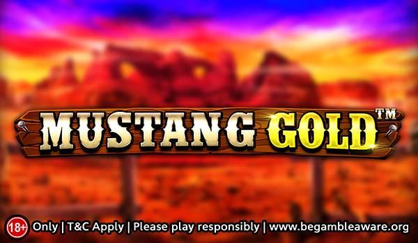 Mustang Gold Slot Banner