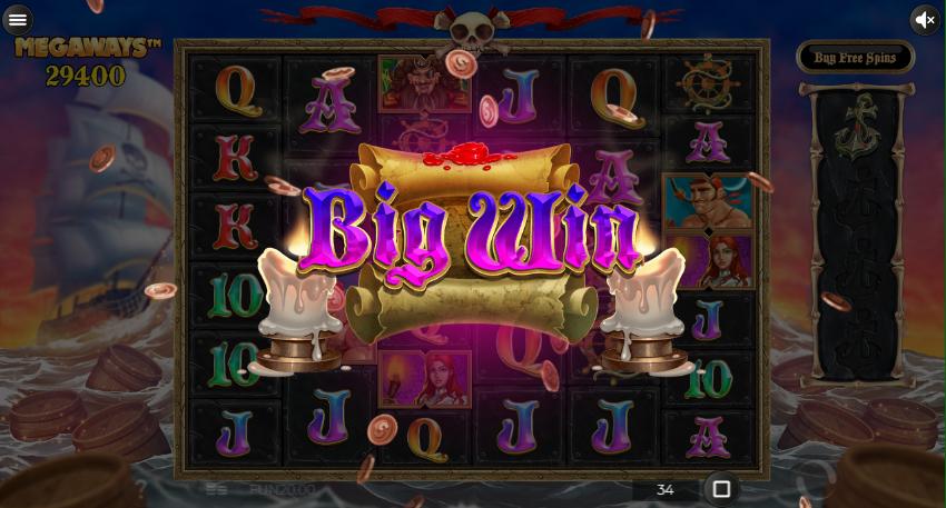 Pirate Kingdom Megaways Big Win