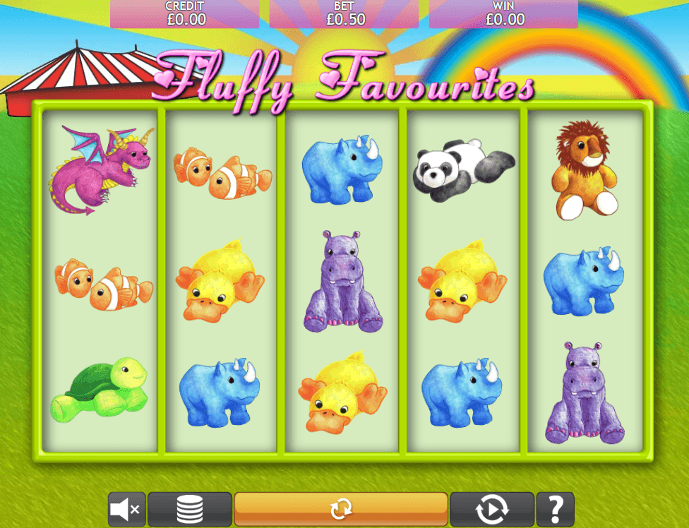 Fluffy Favourites Free Spins Game