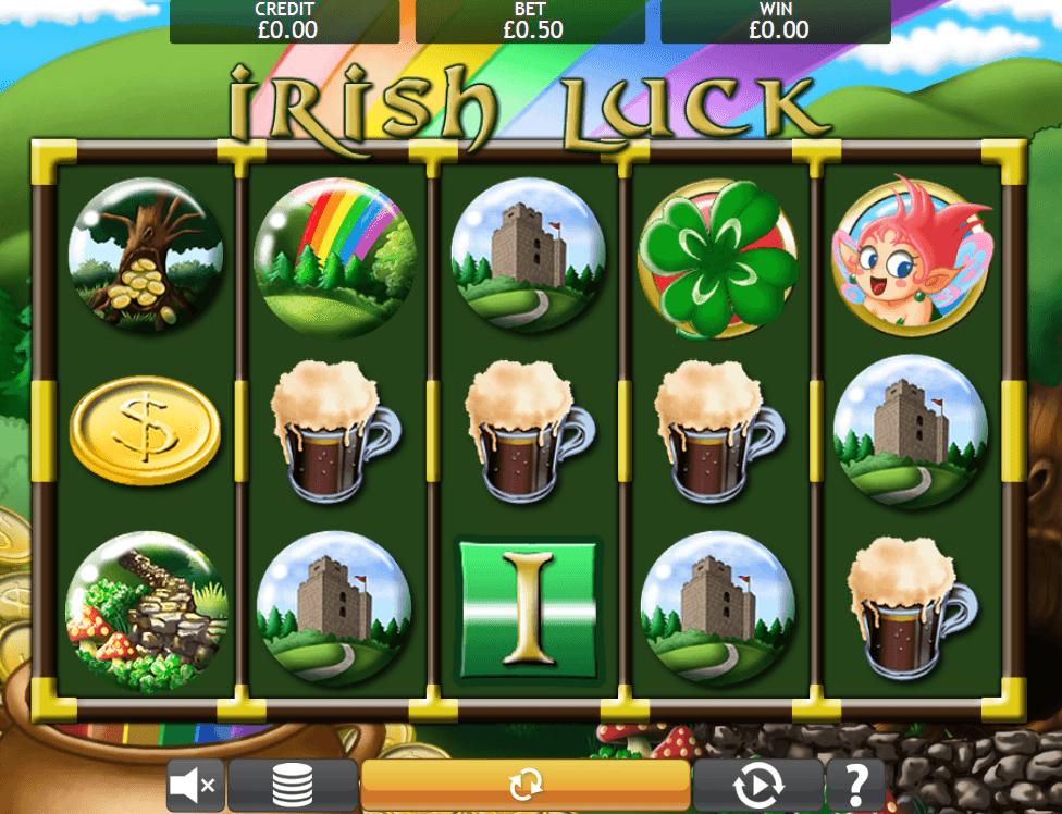 Irish Luck Jackpot gameplay