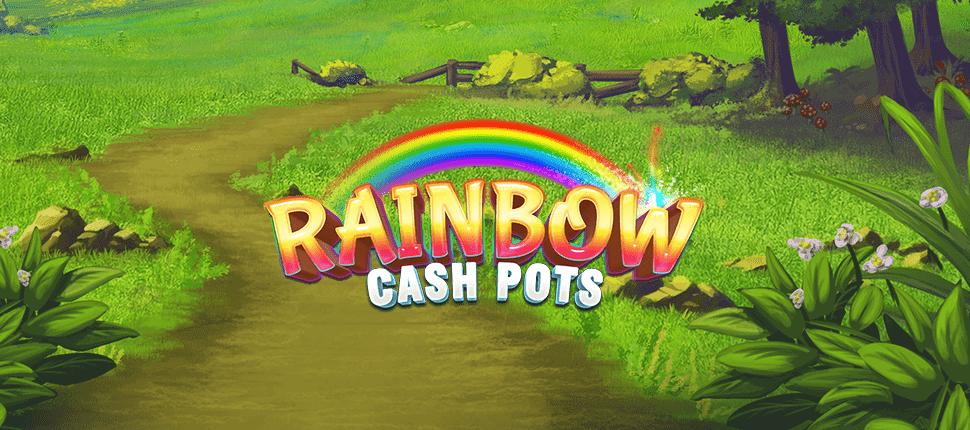 Rainbow Cash Pots Slot Banner