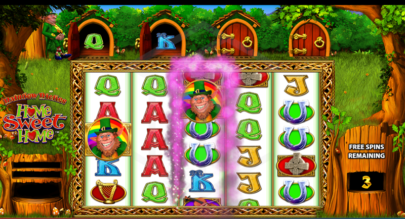 Rainbow Riches: Home Sweet Home Slots Game