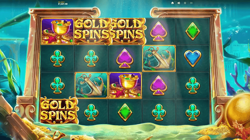 Atlantis Slot Online