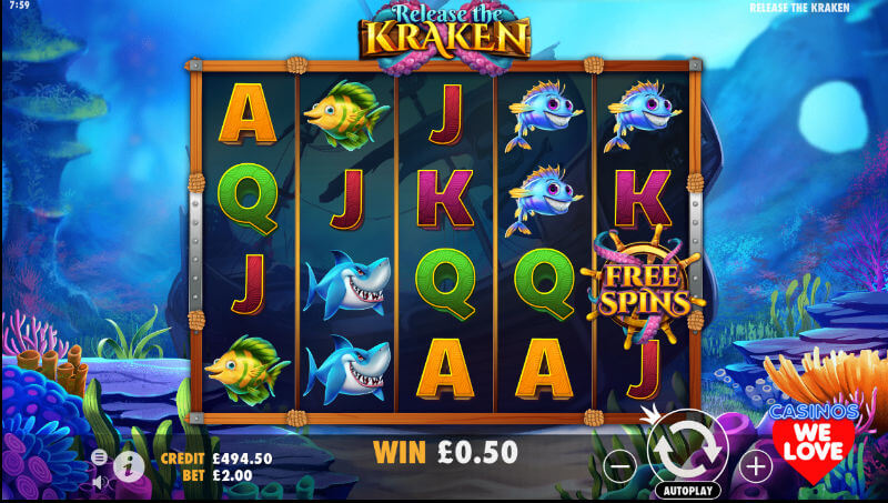 Release The Kraken Slot Online