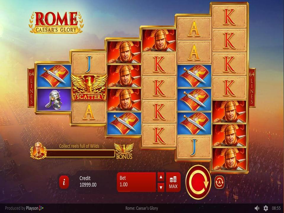 Rome: Caesar's Glory Slots Online