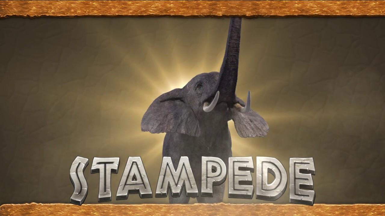 Play Stampede slot at Umbingo - Logo Image