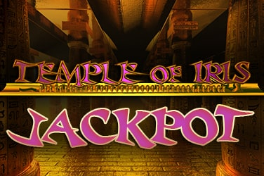 Temple of Iris Jackpot Slot Game Logo