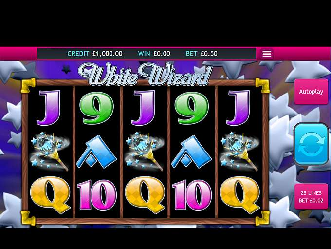 White Wizard Gameplay Casino