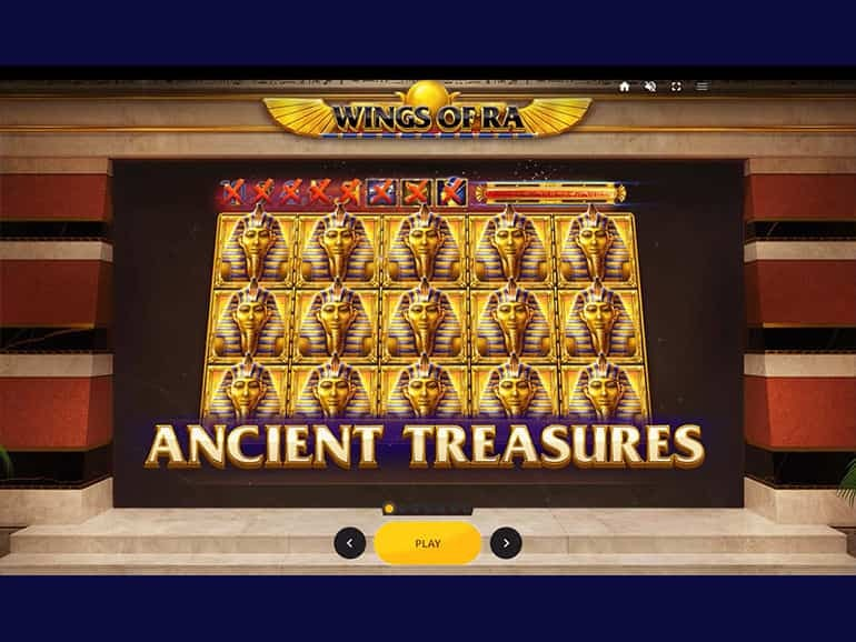 Wings of Ra Slots UK
