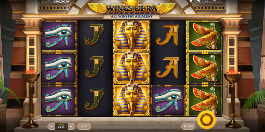 Wings of Ra Casino Game