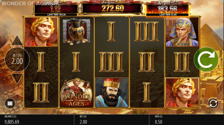 Wonder of Ages Slot Casino