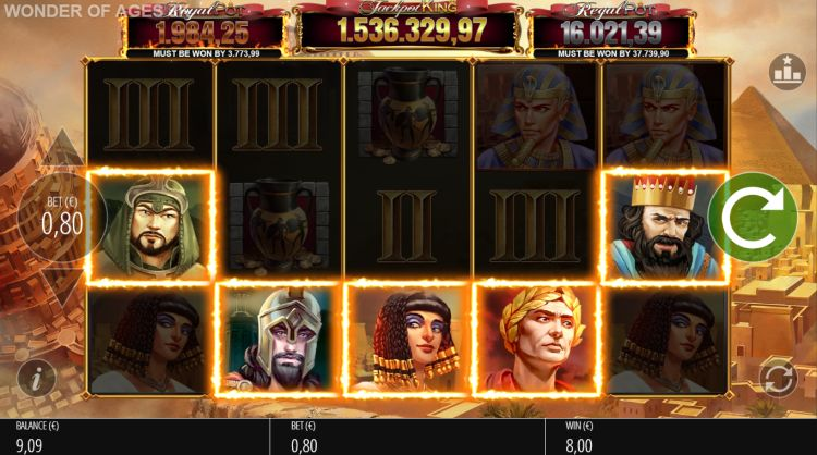 Wonder of Ages Free Slots
