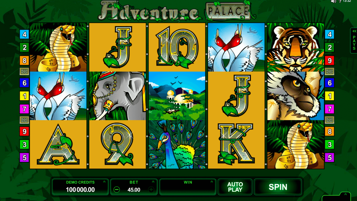 Adventure Palace Slot Online