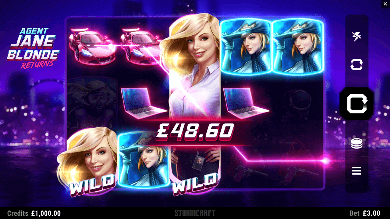 Agent Jane Blonde Returns Slot Game