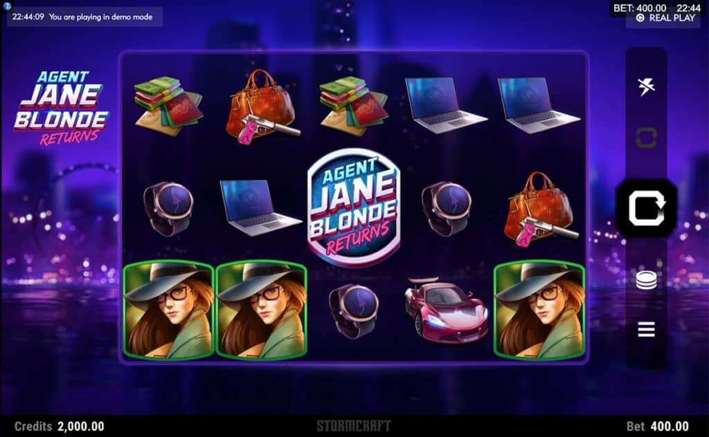 Agent Jane Blonde Returns Slot UK