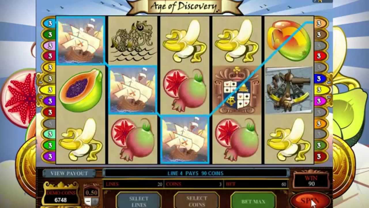 Age of Discovery Slots Game