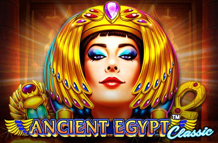 Ancient Egypt Classic Slot Logo Umbingo