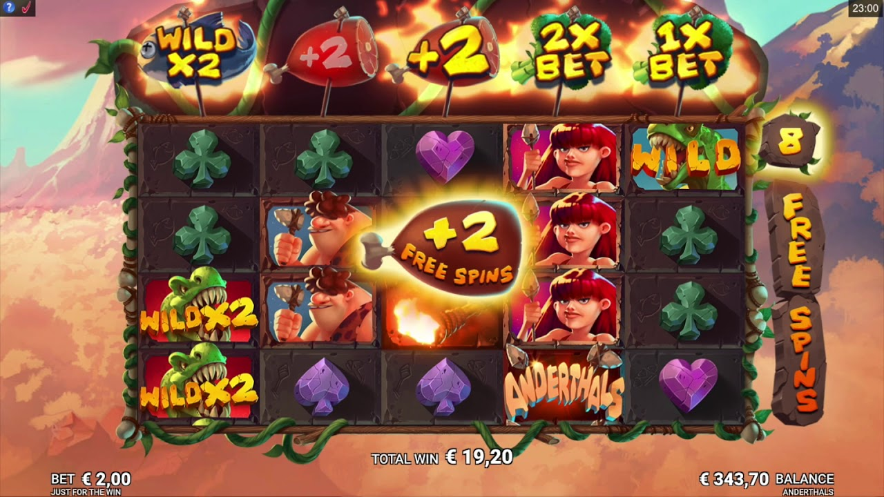 Anderthals Slots Game