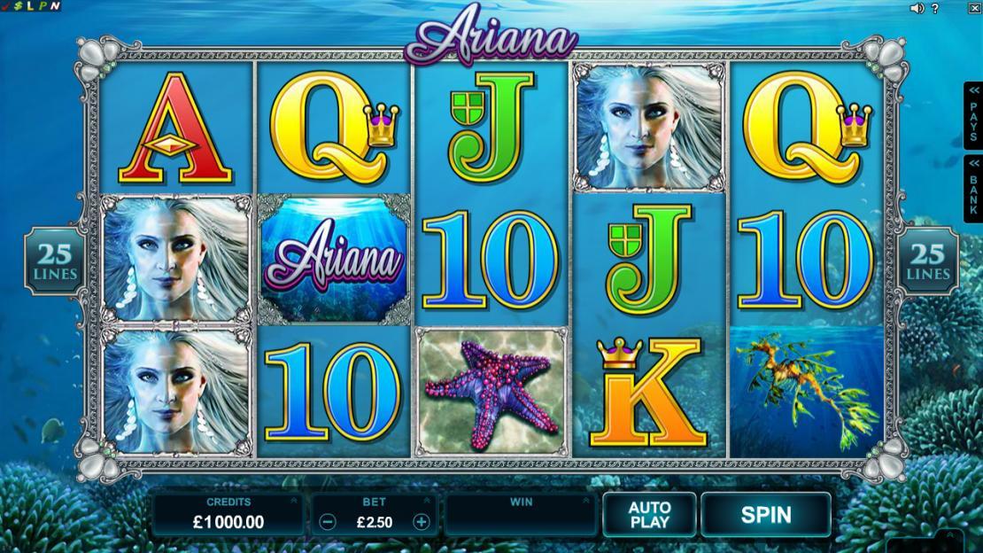 Ariana Slots Game