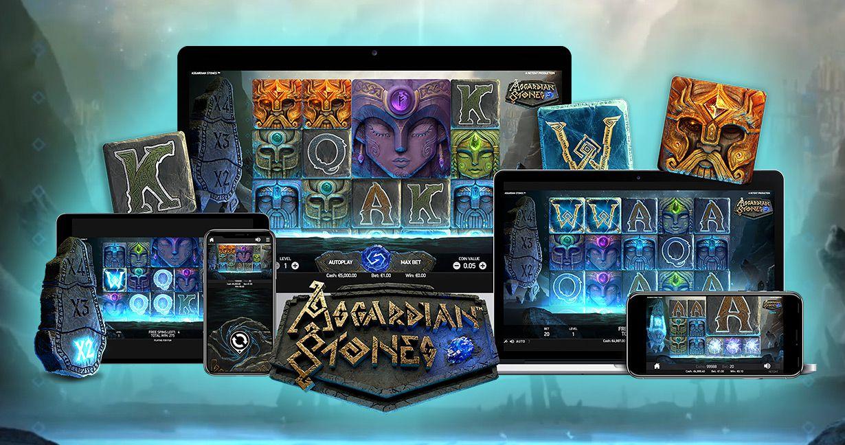 Asgardian Stones Mobile Slots