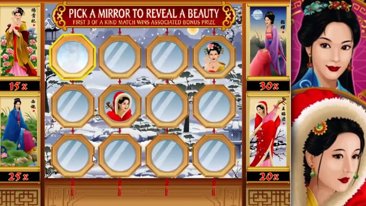 Asian Beauty Slots Game