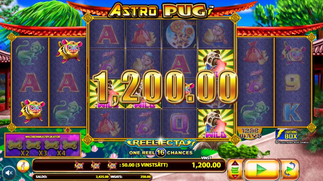 Astro Pug Slots Online