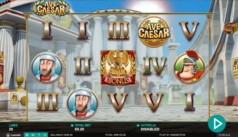 Ave Caesar Slots Online