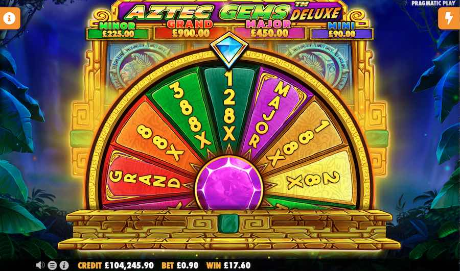 Aztec Gems Deluxe Slot Free Spins