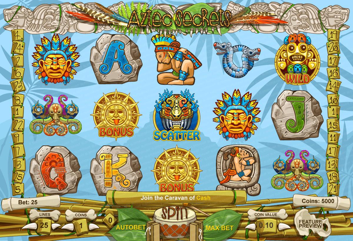 Aztec Secrets Slots Game