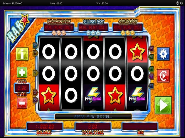 Bar Star Slot UK