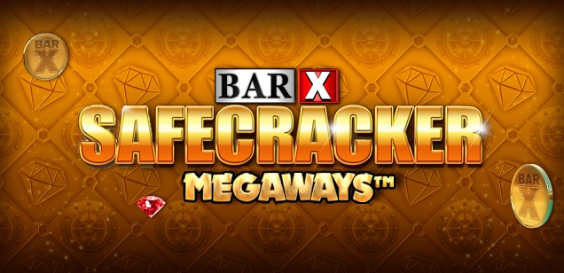 Bar-x Safecracker slot logo