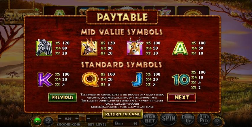 Stampede Jackpot Slots UK