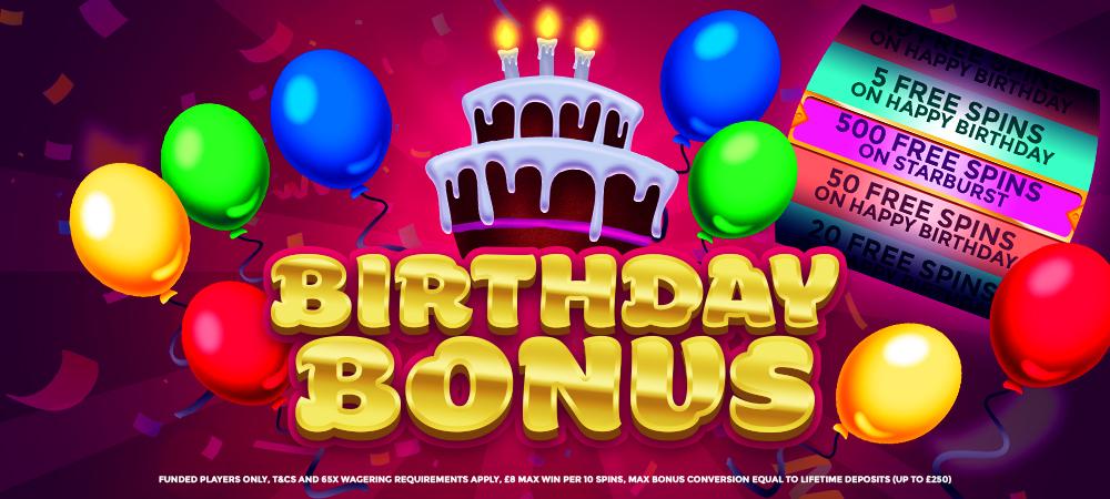 BirthdayBonus Umbingo