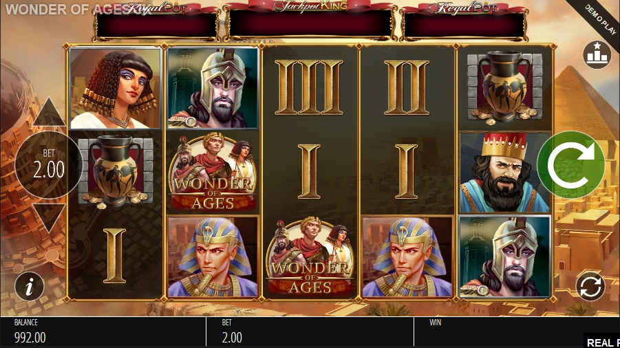 Wonder of Ages Casino Game