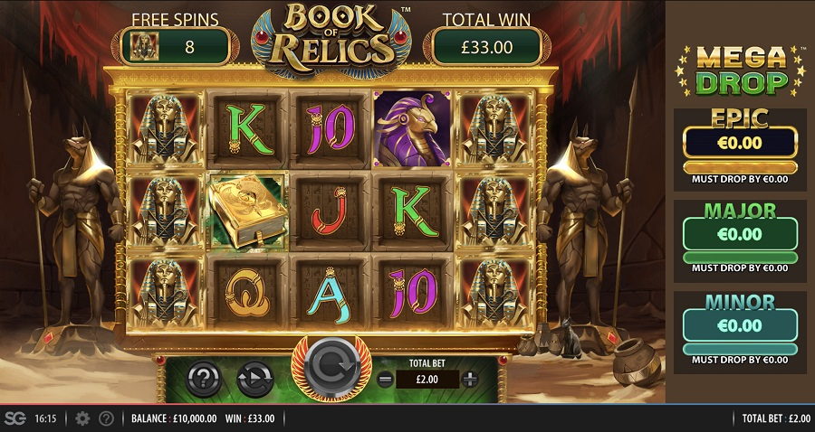 Book of Relics UK Slots