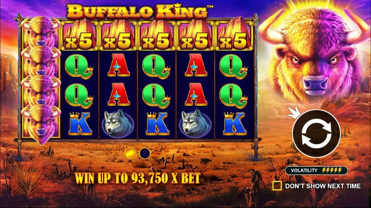 Buffalo King Slots UK Game Play