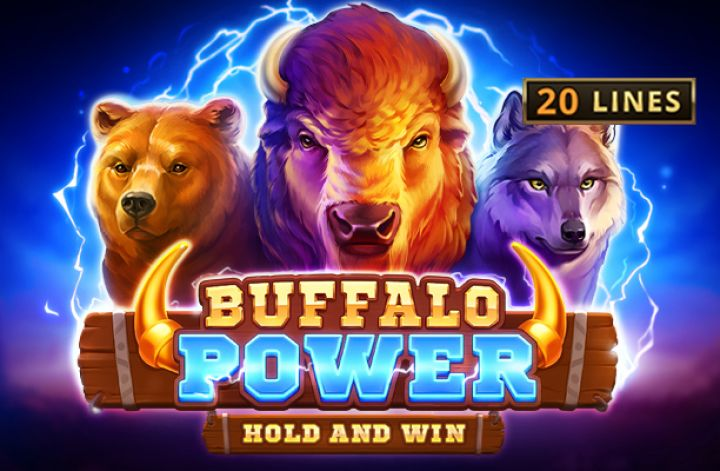 Buffalo Power Hold and Win Slot Logo Umbingo