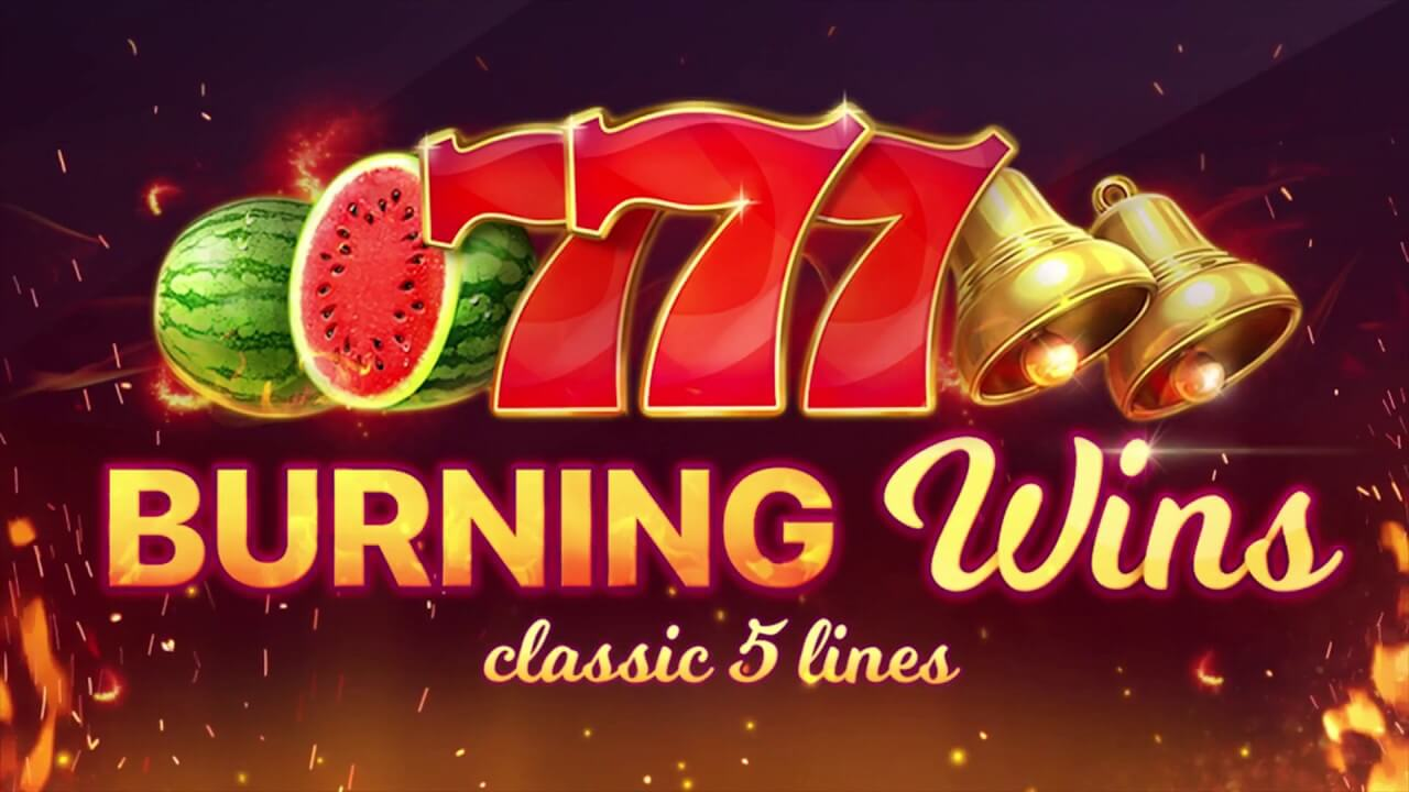 burning wins slot game