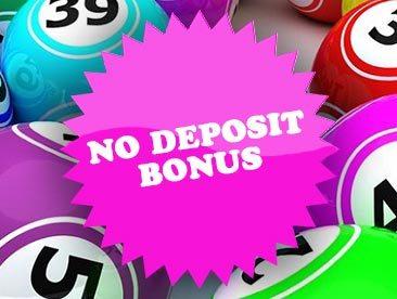 No Deposit bOnus bingo image