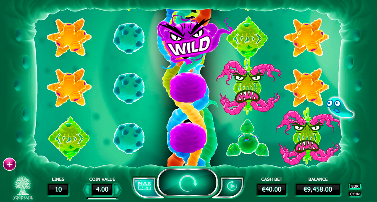 Cyrus the Virus Slots Game