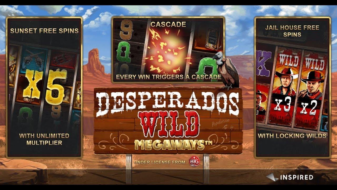 Desperados Wild MegaWays Bonus Features