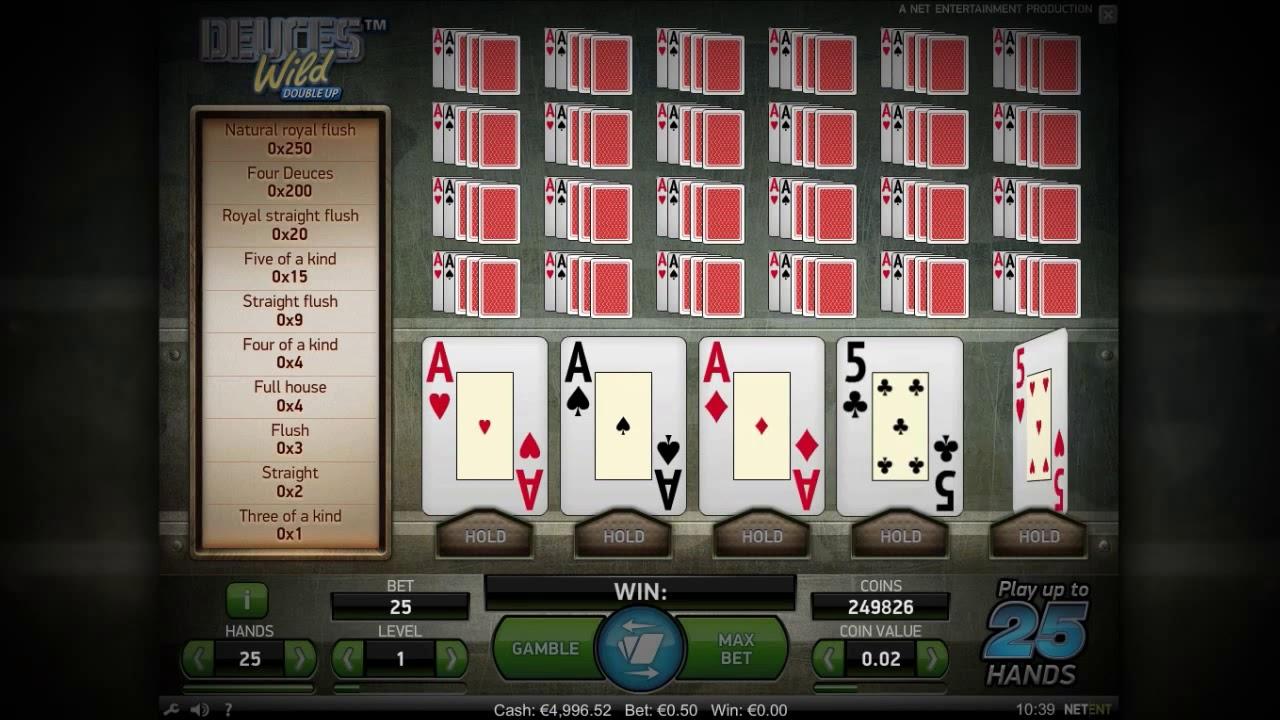Deuces Wild Double Up Slot online
