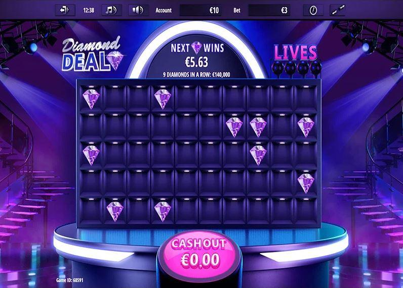 Diamond Deal Slots Games