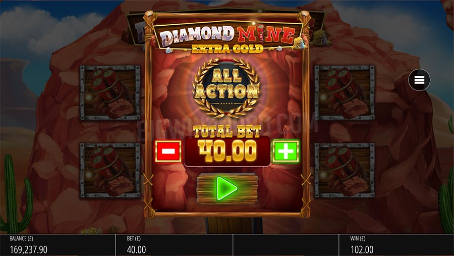 Diamond Mine: Extra Gold Slots Online