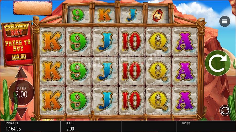 Diamond Mine: Extra Gold Slots Gameplay