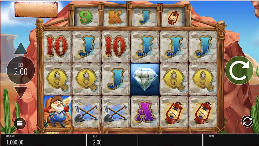 Diamond Mine Slots Online