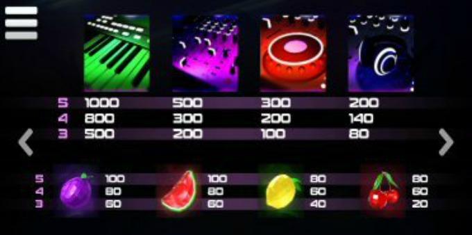 DJ Wild Slot Symbols