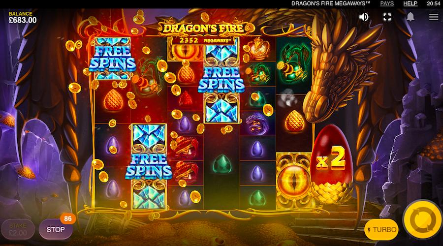 Dragon's Fire Megaways Slots Online