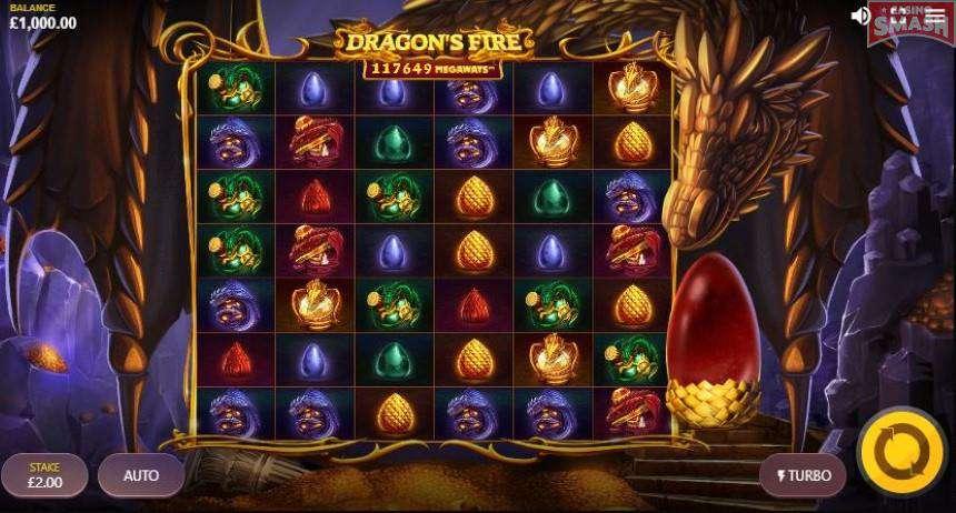 Dragon's Fire Megaways Slots